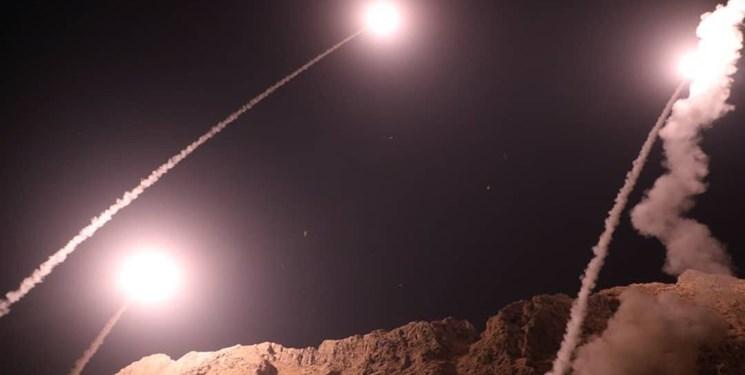 伊朗导弹突击 法尔斯通讯社图