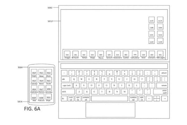 苹果MacBook专利曝光 搭载触摸屏+可同步到手机