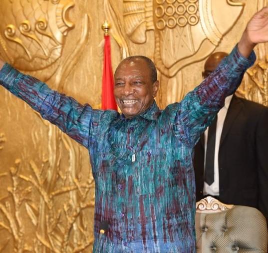 几内亚宪法法院:孔戴以59.50%的得票率胜选连任总统