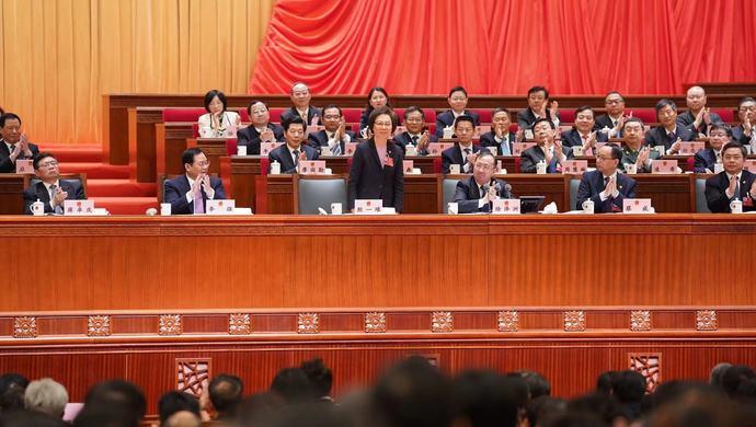 殷一璀辞去上海市人大常委会主任职务