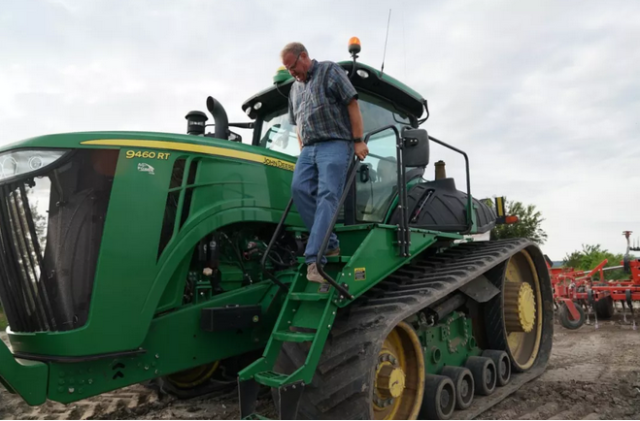 有美国农民外示,与当局补贴相比,他们更想要的是安详的市场图据新华社