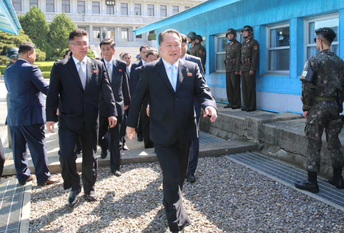原料图:故国和平同一委员会李善权 图源:韩联社