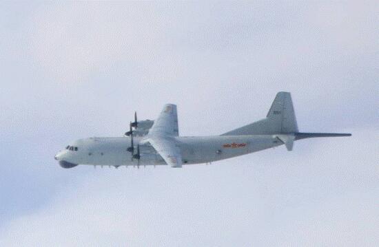 解放军军机资料图(图片来源:台防务部门网站)