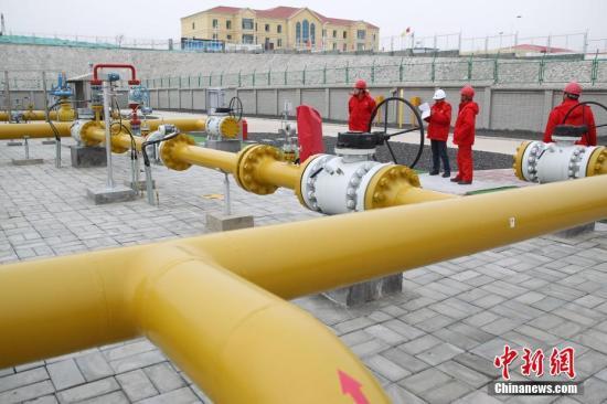 资料图:天然气输送管道。中新社记者 苏丹 摄