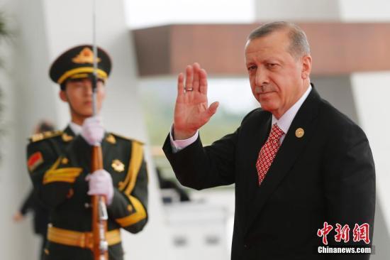 原料图:土耳其总统埃尔众安。 中新社记者 王骏 摄