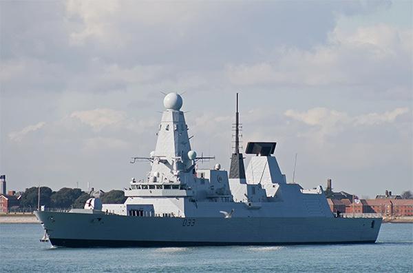 英国皇家海军45型驱逐舰