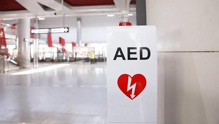 广州地铁配置AED急救设备 由公益机构捐赠
