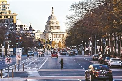 12月2日在美国首都华盛顿拍摄的国会大厦 供图/新华社