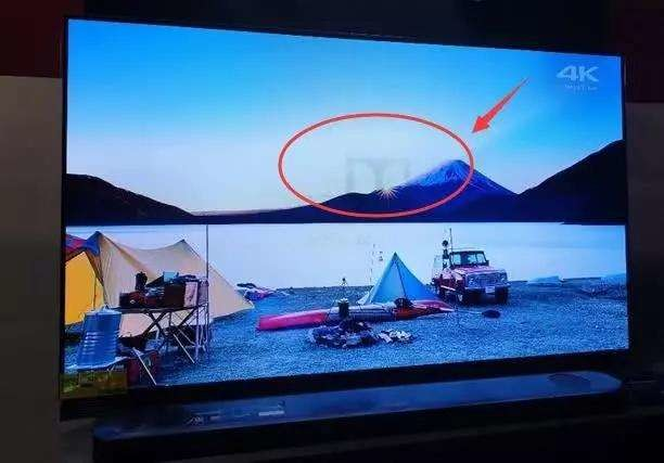 OLED burn-in phenomenon
