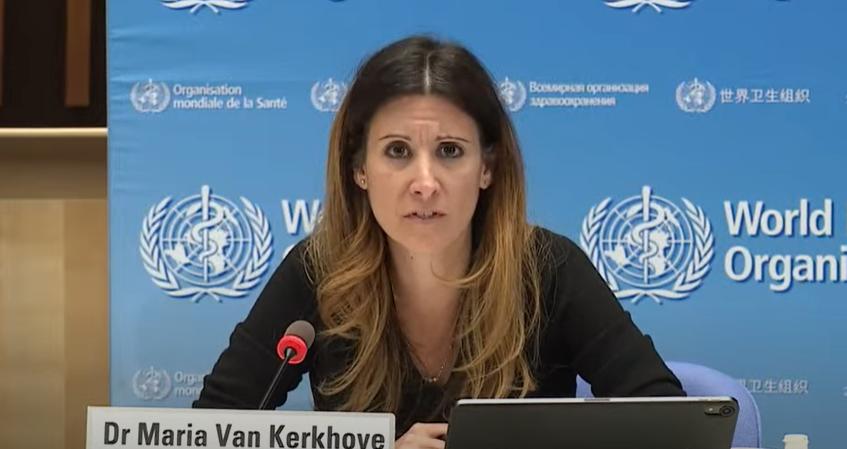 △世卫组织卫生紧急项目技术主管玛丽亚·范·科霍夫