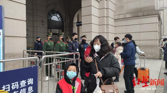 汉口火车站关闭 图据澎湃新闻
