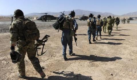 ▲ 在阿富汗的澳大利亚士兵(图源:澳大利亚国防部)