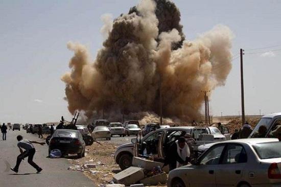 利比亚战火不息。(原料图)