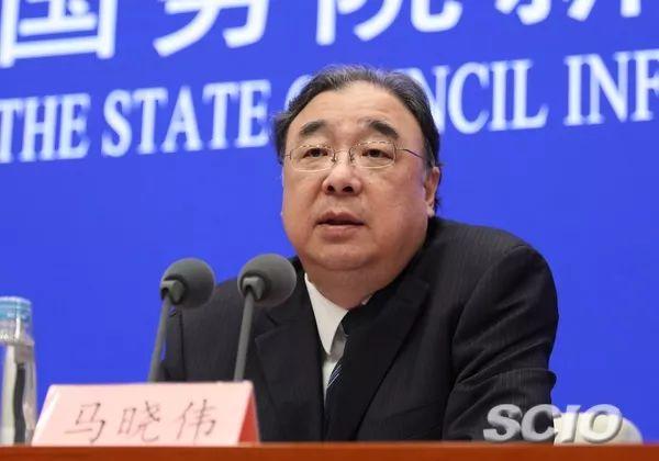 国家卫健委主任、党组书记马晓伟