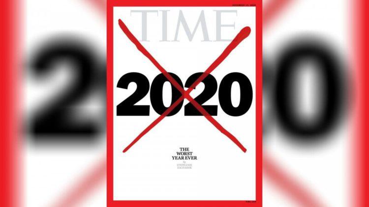 """时代周刊新封面""""2020是最糟糕一年"""" 这个标记史上第五次出现"""