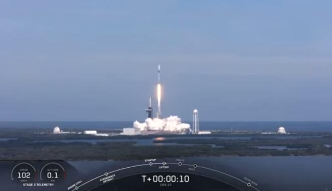 SpaceX向国际空间站发射搭载实验设备的新版龙飞船