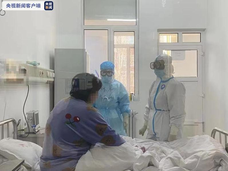 内蒙古满洲里市首例本土新冠肺炎患者治愈出院
