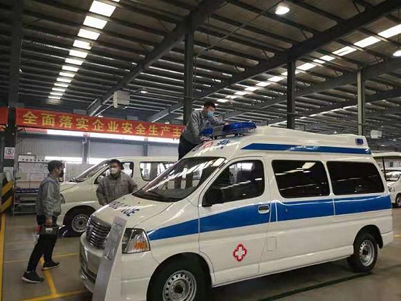车企驰援武汉疫情防控:累计捐赠超3.5亿,加紧生产负压救护车