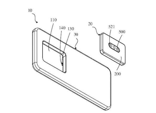 OPPO曝光一项摄像头专利,后置相机秒变前置