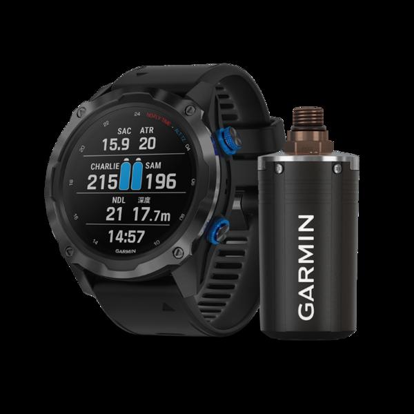 Garmin发售可支持其最新一代潜水电脑表Descent Mk2i的Descent T1气瓶传感器