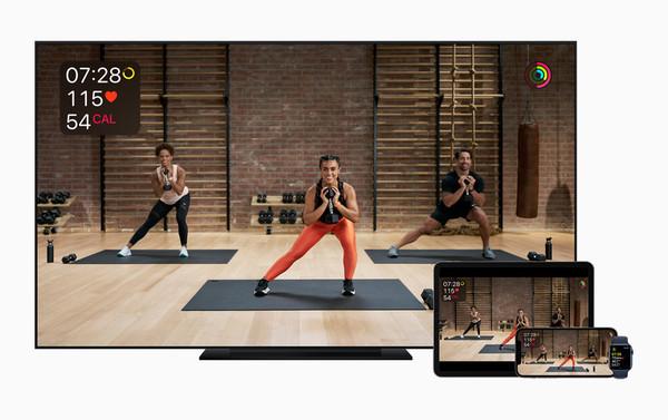 苹果旗下健身类订阅服务Apple Fitness+将于12月14日正式上线