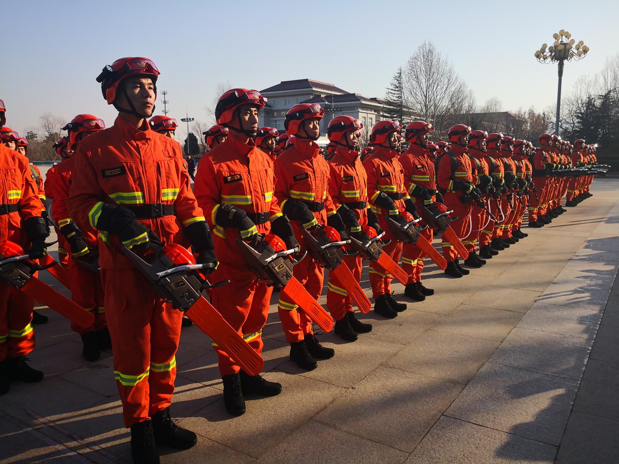 北京應急救援實訓基地掛牌成立,將用于培訓演練比武