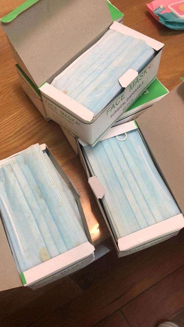 不合格口罩部分样品青浦区检察院供图