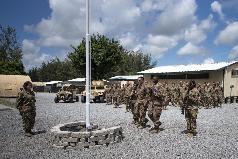 美国于肯尼亚联合军事基地,图自美联社