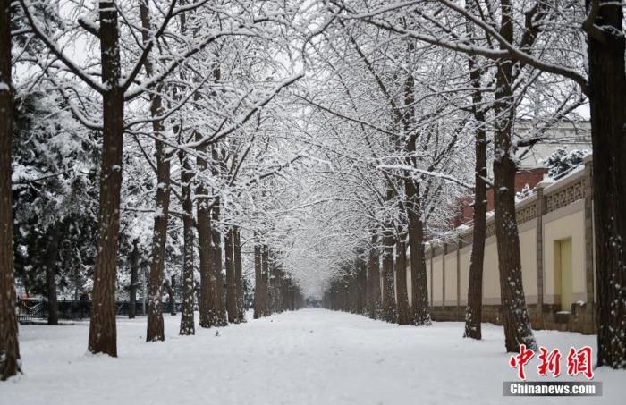 雨雪持續發力 陜西山西河南山東