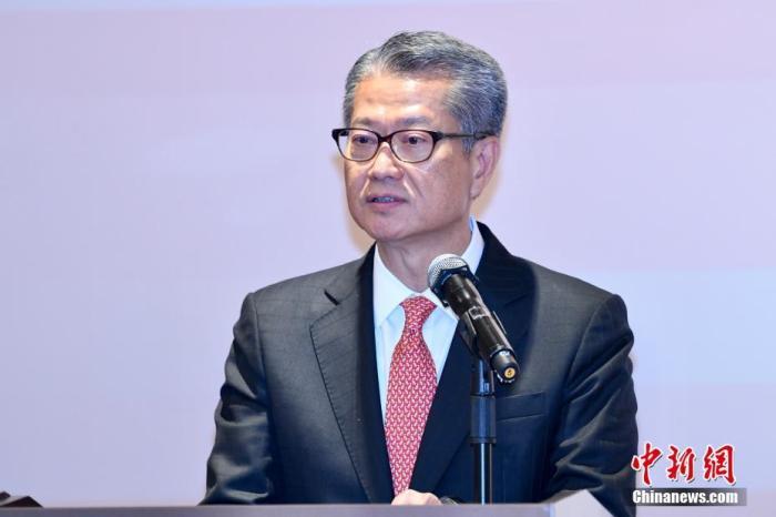 资料图:香港特区财政司司长陈茂波。中新社记者 李志华 摄