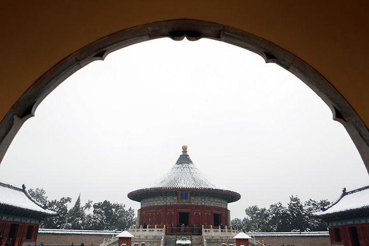 天坛公园皇穹宇。