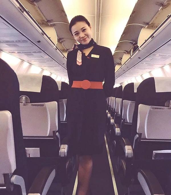 当事乘务员张琪琪 中国联合航空公司 供图