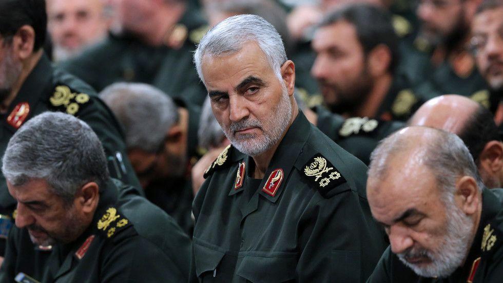 """伊朗伊斯兰革命卫队特栽部队""""圣城旅""""高级军官卡西姆·苏莱曼尼"""