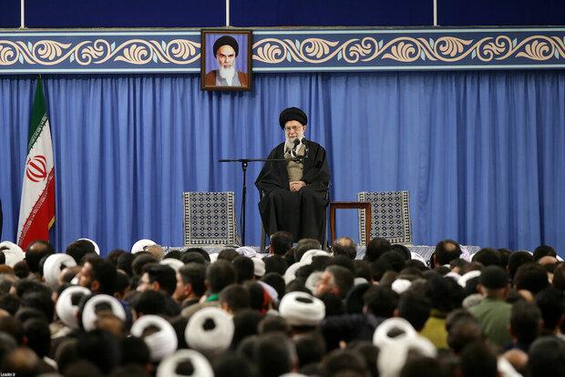 哈梅内伊发外说话 图源:伊朗迈赫尔通讯社