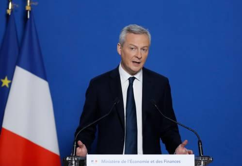 图为法国经济与财政部长布鲁诺·勒梅尔。新华社/法新