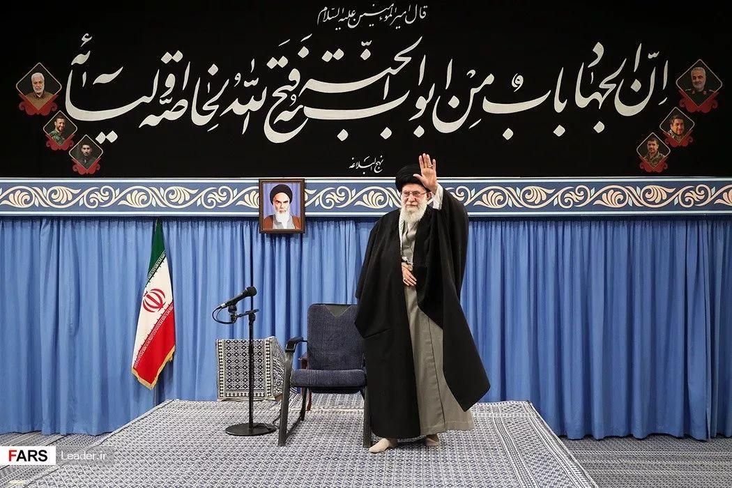 哈梅内伊 图源:伊朗法尔斯通讯社