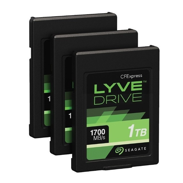 Lyve Drive存儲卡