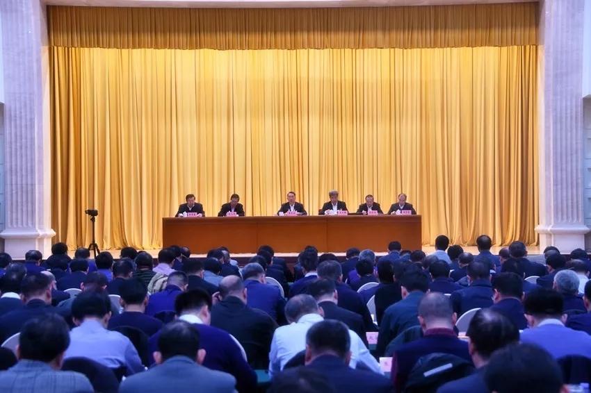 2019年全国煤矿坦然生产做事会议在京召开。 中国能源报 图