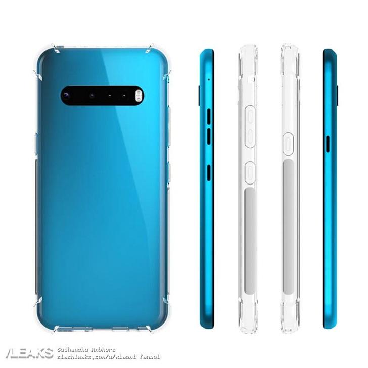 LG G9带壳渲染图曝光 采用横向四摄+双闪光灯