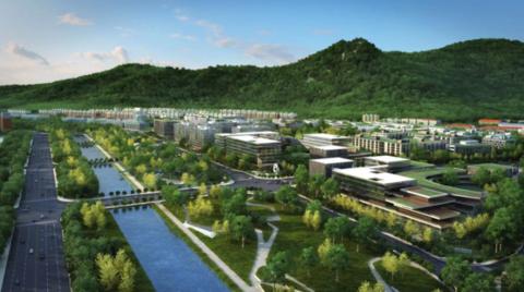 北京银行保险产业园今年建成