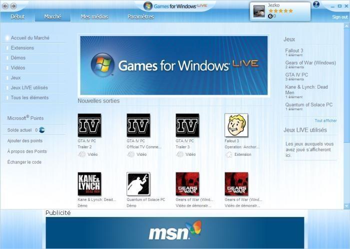 微软在游戏领域的战略级产品——GFWL