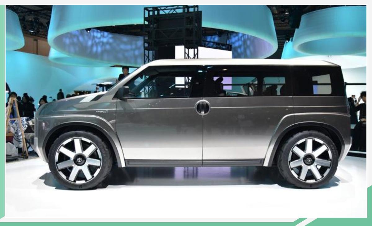 又一款方壳子SUV 丰田Tj Cruiser量产版5月发布