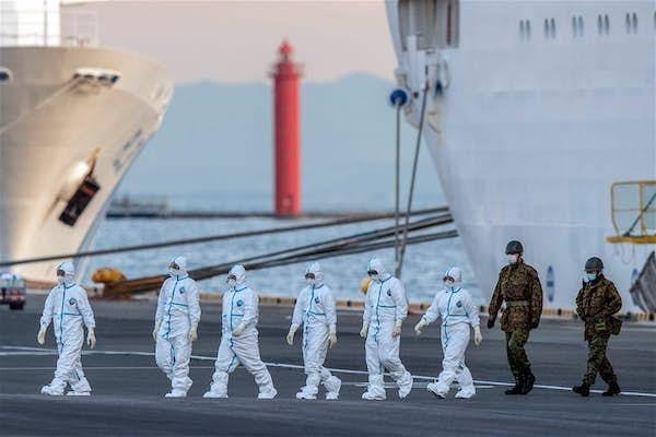 钻石公主号邮轮疫情扩散 国际邮轮协会颁布新规