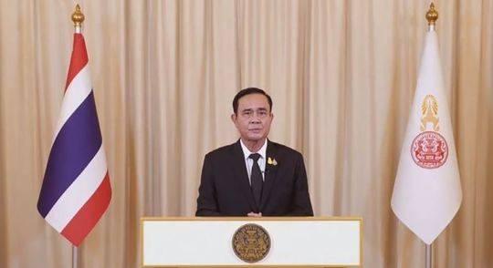 泰国总理巴育举行全国电视讲话