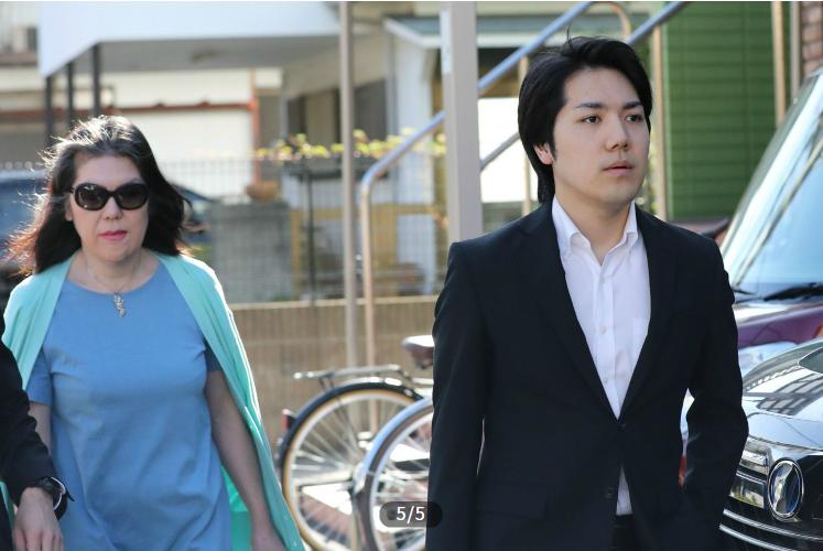 小室圭和他的母亲(周刊文春)