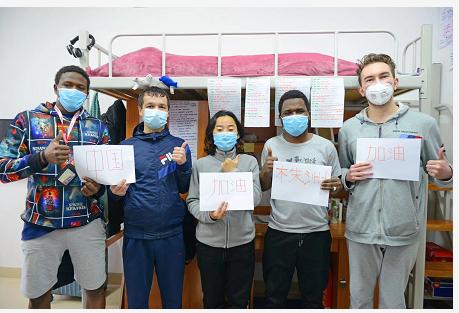 """外国留学生用三国语言写信点赞""""中国力量"""""""