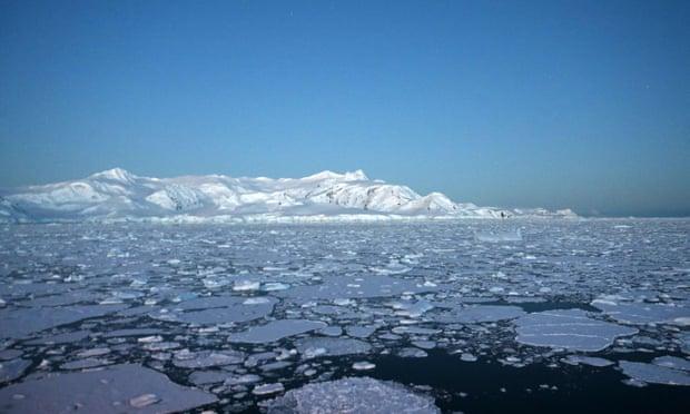 南极区域的冰川(法新社)