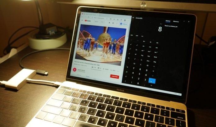 苹果MacBook成功运行微软Win10X 手势操作也可以正常进行