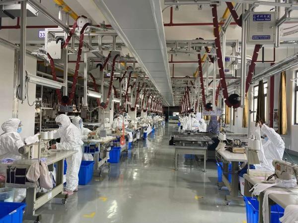 奉贤区,海英科实业有限公司复工。
