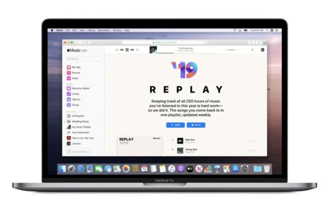 Apple Music Replay会根据收听的内容生成播放列表 可追溯到2015年